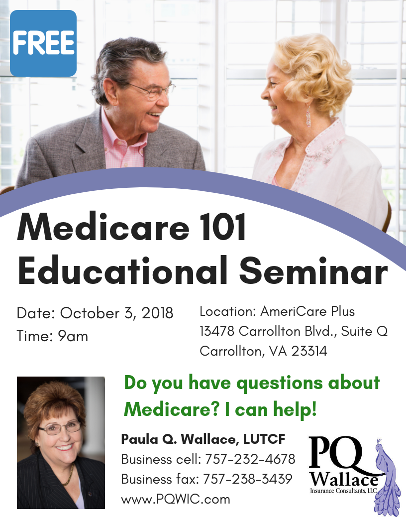 Medicare 101 Educational Seminar